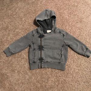 Zara Infant Size 9-12 Months Moto Sweatshirt
